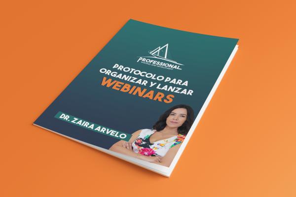 Protocolo para organizar y lanzar webinar